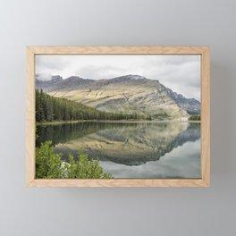 Where the Bears Roam - Many Glacier - Glacier NP Framed Mini Art Print