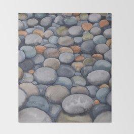 Watercolour relaxation Throw Blanket