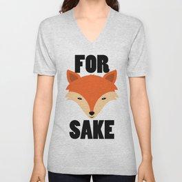 FOR FOX SAKE Unisex V-Neck