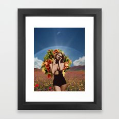 Flowers Of Romance Framed Art Print