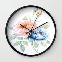 Vintage Rose 8 Wall Clock
