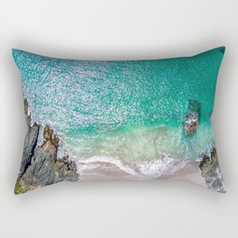 Seascape at the Cove (Color) Rectangular Pillow