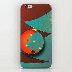Christmas Eve (texturized edition) iPhone & iPod Skin