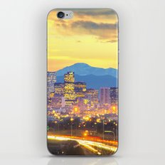 The Mile High City iPhone & iPod Skin