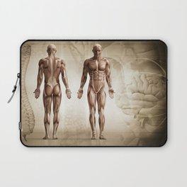 human anatomy digital render Laptop Sleeve