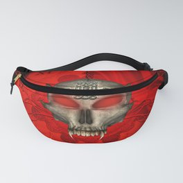 Awesome skull with celtic knot Fanny Pack