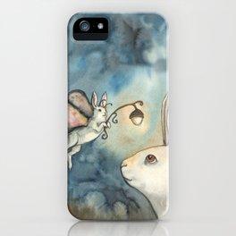 Night Bunny Fairy iPhone Case