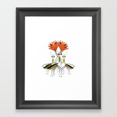 The Lily Farmers Framed Art Print