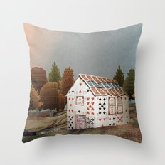 Forget about your house of cards Throw Pillow