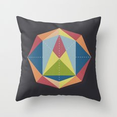 Prisme 1 Throw Pillow