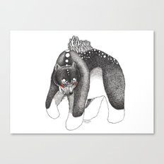 Oso Canvas Print