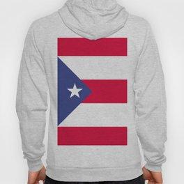 Puerto Rico flag emblem Hoody