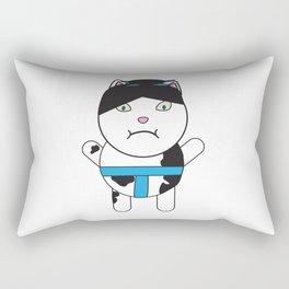 Sumo Kitty Rectangular Pillow