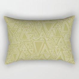 Screw You Ruler Said Triangle Rectangular Pillow
