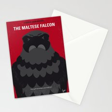 No780 My The Maltese Falcon minimal movie poster Stationery Cards