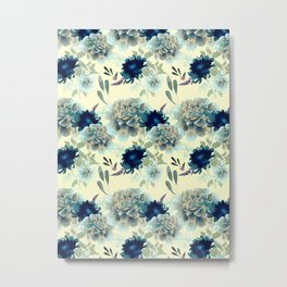 Blue Mum Metal Print