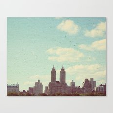 The sky is always bigger Canvas Print