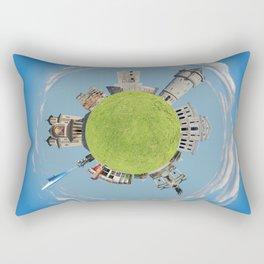 drobeta turnu severin tiny planet Rectangular Pillow