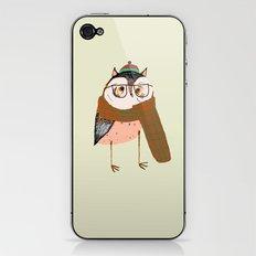 Owls Love Scarfs.  iPhone & iPod Skin