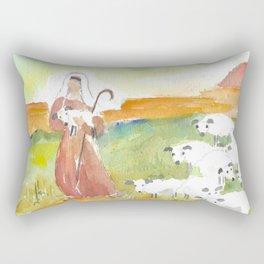 The Lord is My Shepherd Rectangular Pillow