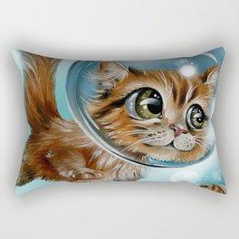 swimming charly Rectangular Pillow