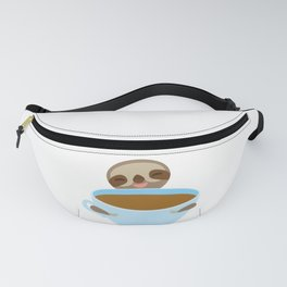 sloth & coffee Fanny Pack
