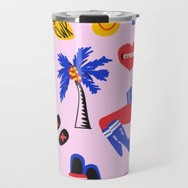 Favs Print Travel Mug