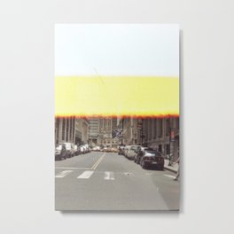 Summertime Heat Metal Print