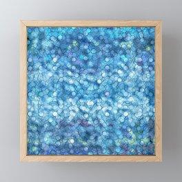 Abstract circle #3 Framed Mini Art Print