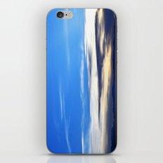 Blue Sunset iPhone & iPod Skin