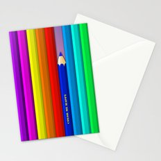 Color Me Happy :)  Stationery Cards