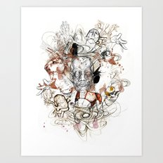 Theseus Art Print