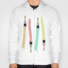 Paint Brushes Hoody