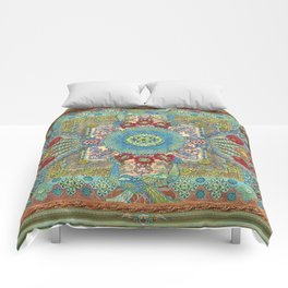 Guardians of a Sacred Spot Comforters