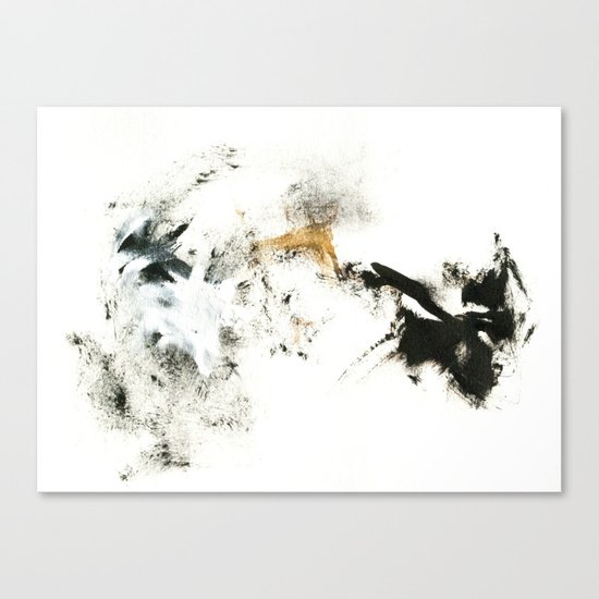 Winter's Meditation Canvas Print
