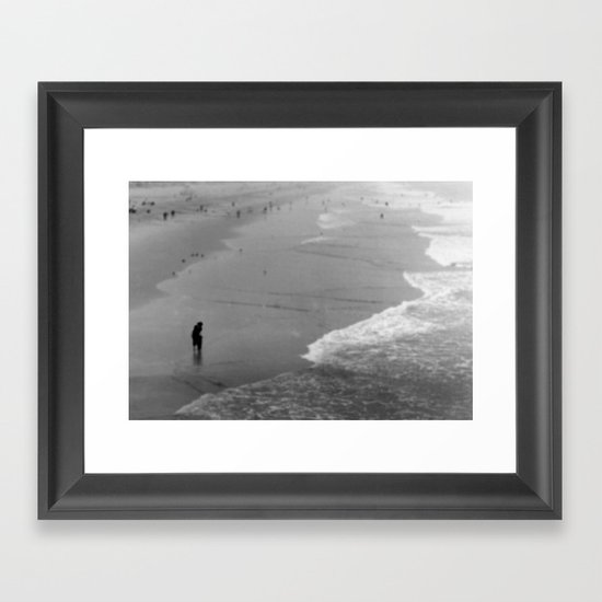 Reflective Seas Framed Art Print