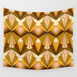 Art Deco meets the 70s Wall Tapestry