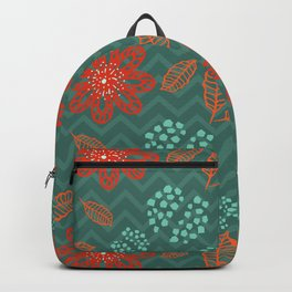 Cute Pomegranate Fruit Pattern Backpack