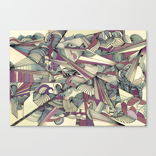 When my Mind Goes Boom. Canvas Print