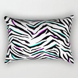 Zazzy Zebra Animal Print Rectangular Pillow