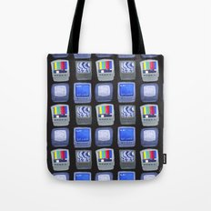 TV Pattern Tote Bag