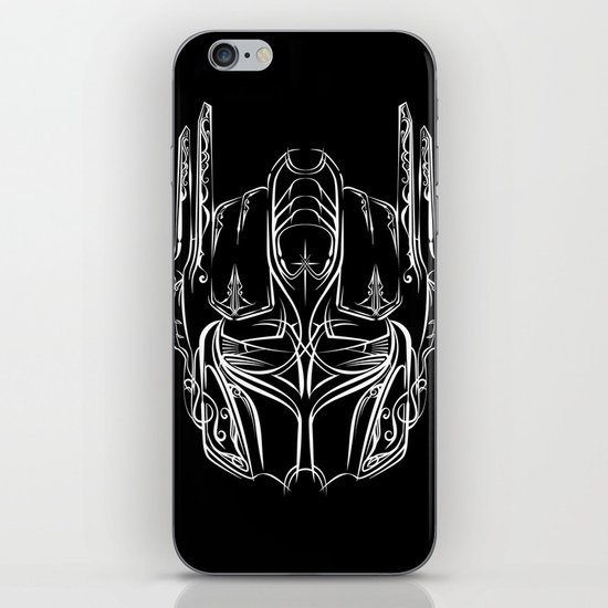 Pinstripe Prime iPhone & iPod Skin