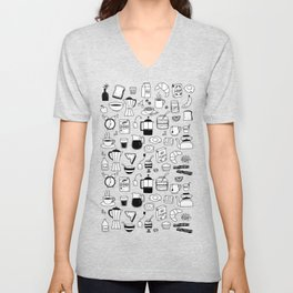 Breakfast Things Unisex V-Neck