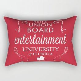 Reitz Union Board Entertainment at the University of Florida Rectangular Pillow