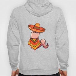 Funny Tequila Mezcal Worm Sombrero Cinco de Mayo design Hoody