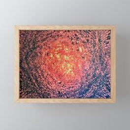 Lava Bits Framed Mini Art Print