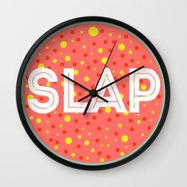 Slap Wall Clock