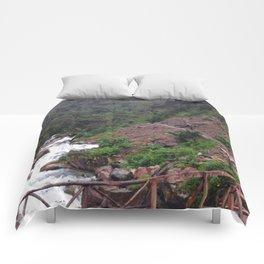 Alpine Bridge Adventure Comforters