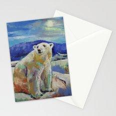 Polar Bear Sun Stationery Cards