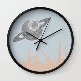"""""""Saturn Returns"""" Wall Clock"""